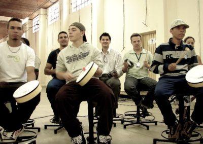 Dinamicas de grupo: Roda de tambores 2